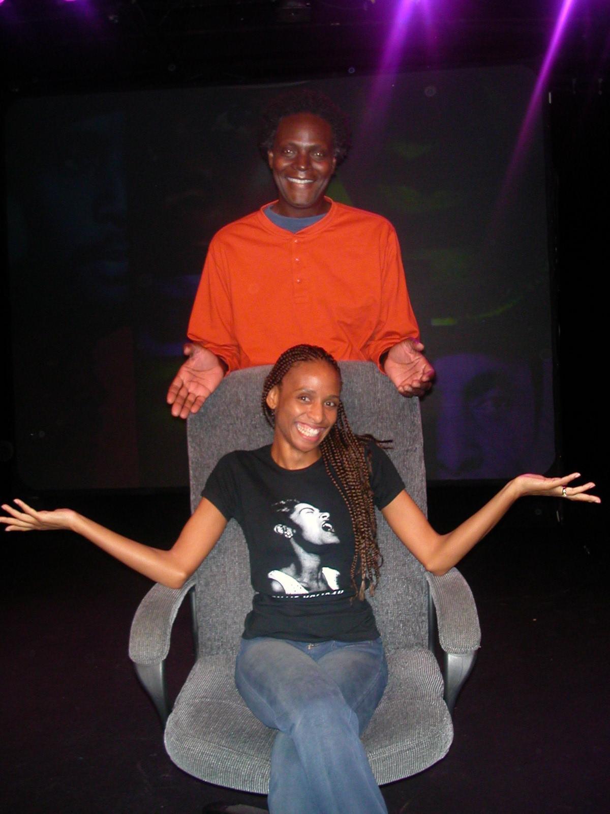 Venus with Poet Sekou Sundiata