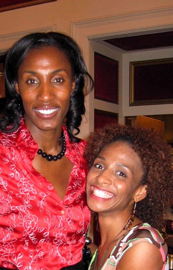 Venus with Lisa Leslie