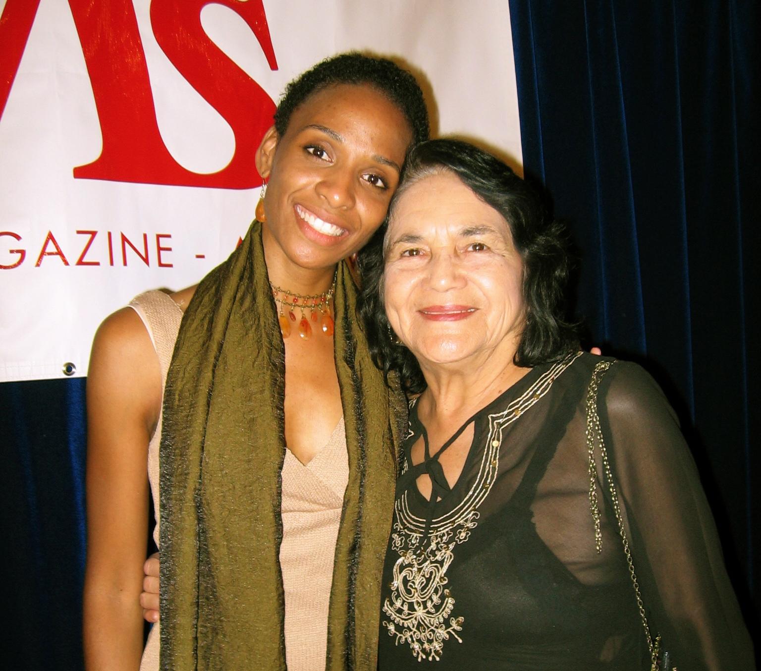 Venus with Dolores Huerta